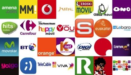 Operadores móviles España